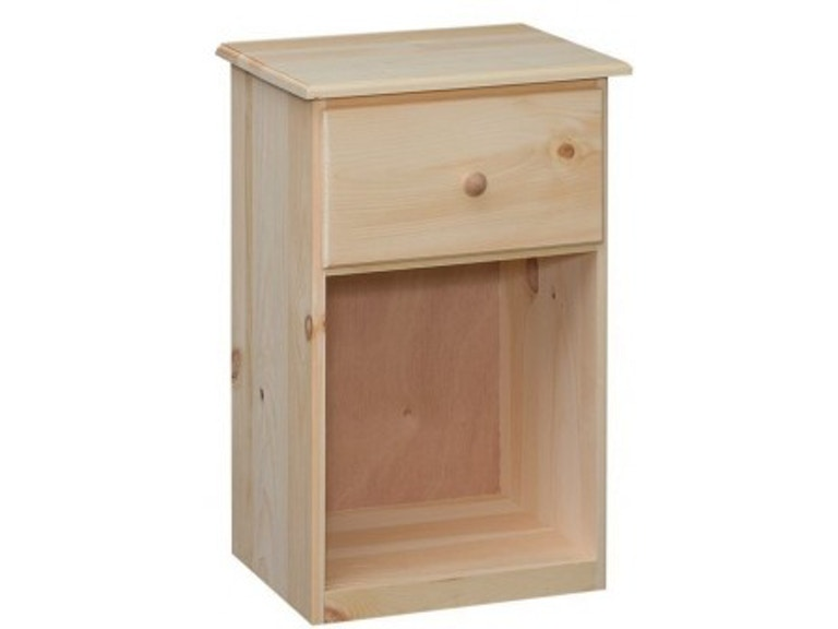 Valley Run Bedroom Unfinished 1 Drawer Nightstand Made In The Usa 21805 At Love S Bedding And