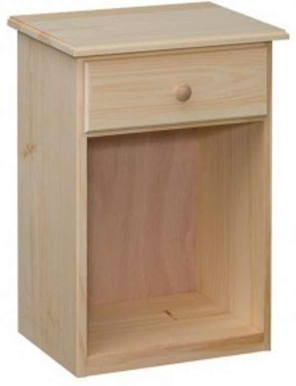 Valley Run Bedroom Unfinished 1 Drawer Nightstand Made In The Usa 21804 At Love S Bedding And