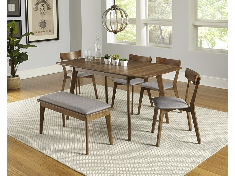 Brilliant Progressive Furniture Dining Room 4 Piece Dining Set Bench Gmtry Best Dining Table And Chair Ideas Images Gmtryco