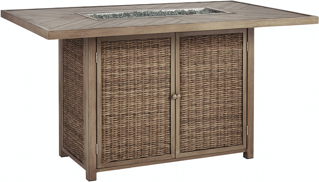 Brilliant Loves Outdoor Patio Fire Pit Bar Table Beachcroft 37251 Home Interior And Landscaping Spoatsignezvosmurscom