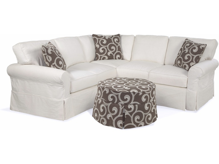 Four Seasons Alexandria Slipcover Sectional 725sectional Customize Me
