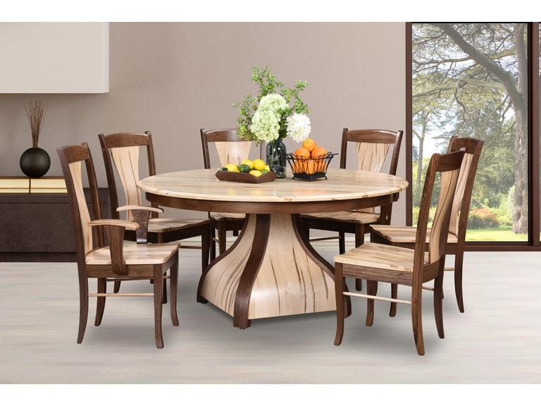 Veraluxe Dining Room Buckingham 7 Pc Dining Set Made In