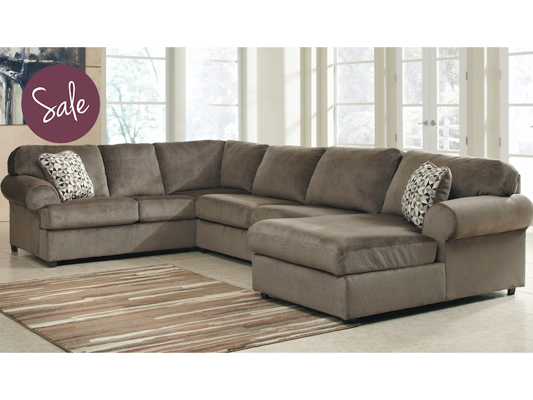 Awe Inspiring Ashley Living Room 39802 66 34 17 Jessa Place Sectional Gmtry Best Dining Table And Chair Ideas Images Gmtryco