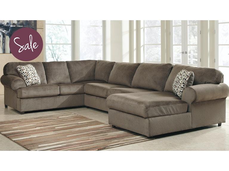 Enjoyable Ashley Living Room 39802 66 34 17 Jessa Place Sectional Spiritservingveterans Wood Chair Design Ideas Spiritservingveteransorg