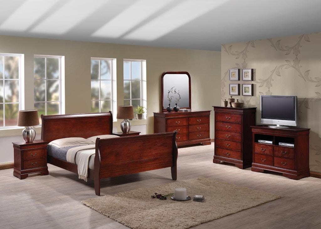 5 Pc Bedroom Set-Queen
