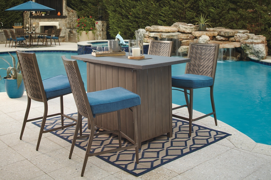 Marvelous Loves Outdoor Patio Outdoor Fire Pit Pub Table 35312 Uwap Interior Chair Design Uwaporg