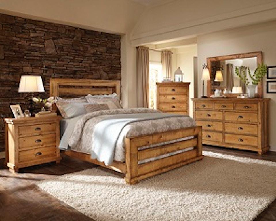 5 Pc Bedroom Set Willow Slat Queen