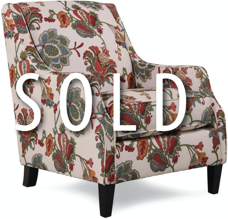 Living Room Clearance Accent Chair Discontinued Style 28394 - Love\'s ...