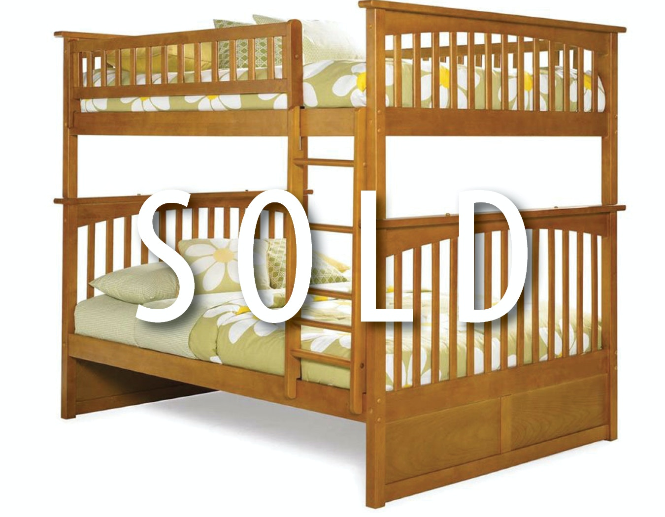 Clearance Bunk Bed Package Full Over Full Bunk Bed And Mattresses