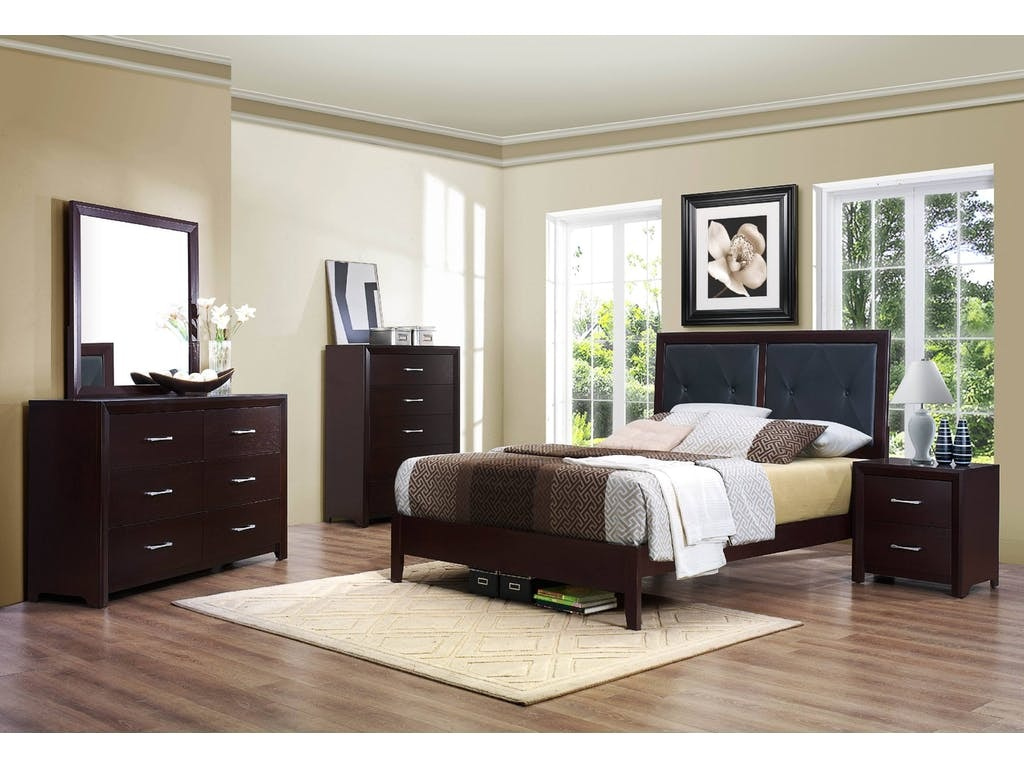 Homelegance 5pc Queen Bedroom Set 2145ST