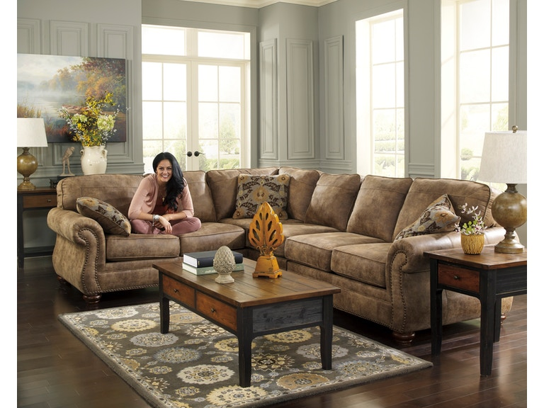 Signature Design By Ashley Living Room Larkinhurst Earth 3pc