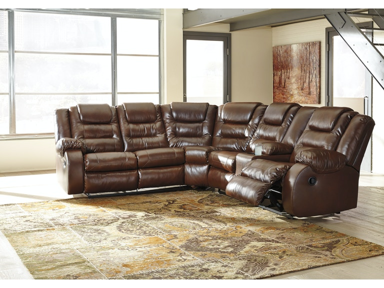 Signature Design By Ashley Walgast 2pc Motion Sectional Sofa 38101sec