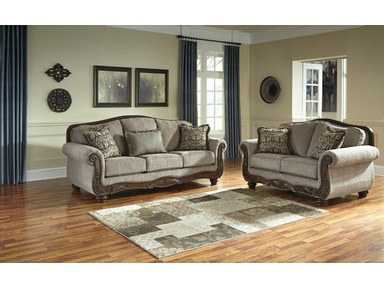 Signature Design by Ashley Cecilyn Cocoa 2pc Living Room Set 57603ST