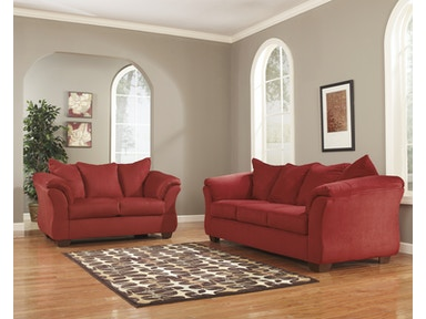 Signature Design by Ashley Darcy Salsa 2pc Living Room Set 75001ST