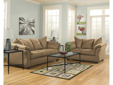 Signature Design by Ashley Darcy Mocha 2pc Living Room Set 75002ST