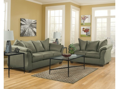 Signature Design by Ashley Darcy Sage 2pc Living Room Set 75003ST