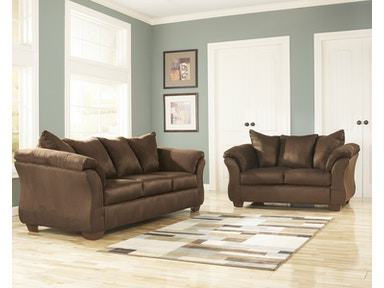Signature Design by Ashley Darcy Cafe 2pc Living Room Set 75004ST