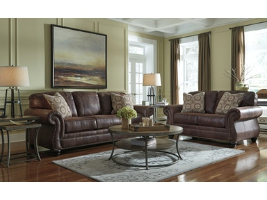 Signature Design by Ashley Breville 2pc Living Room Set 80003ST