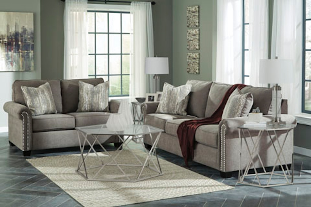Benchcraft Gilman 2pc Living Room Set 92602st The Furniture Mall