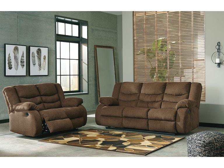 signature designashley tulen 2pc reclining living room