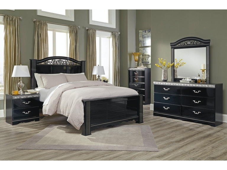 ashley king bedroom set. Signature Design by Ashley Constellations 5pc King Bedroom Set B104KST