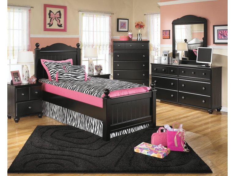 Signature Design By Ashley Bedroom Dmtwin Poster Bedcns B150 21