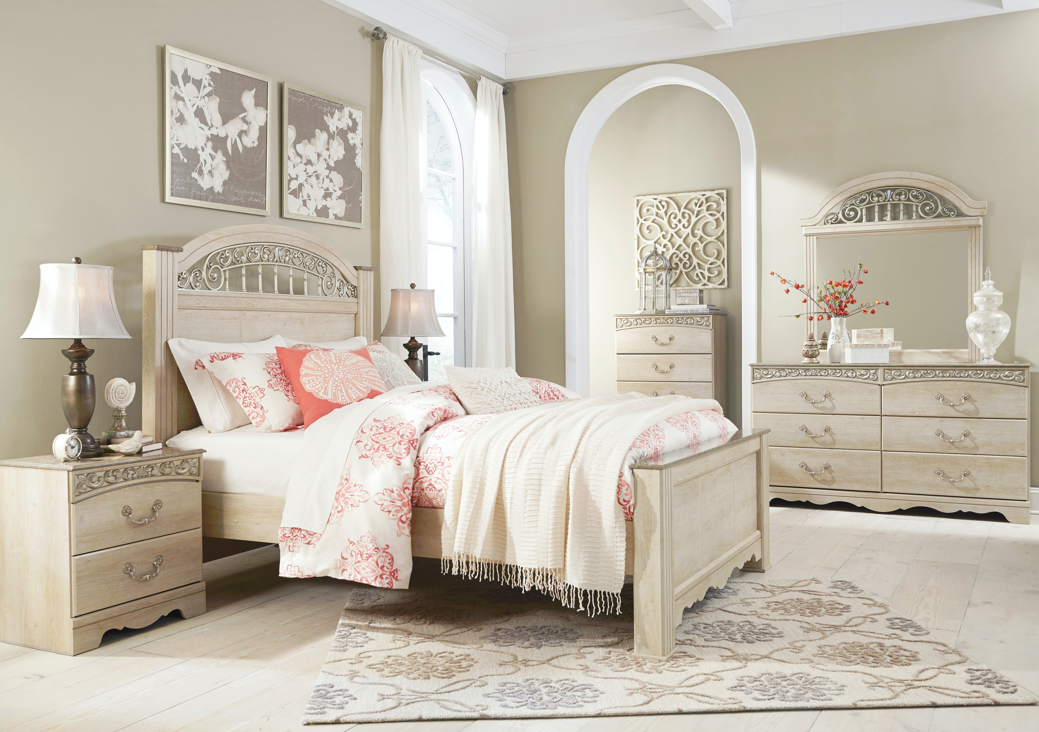 ... Furniture Mall Kennesaw Ga By Signature Design By Ashley Accessories  Bedroom Mirror B196 ...