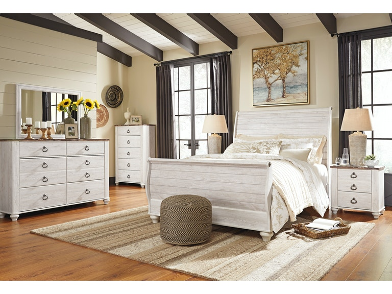 Signature Design By Ashley Bedroom Dmqueen Sleigh Bedcns B267 31