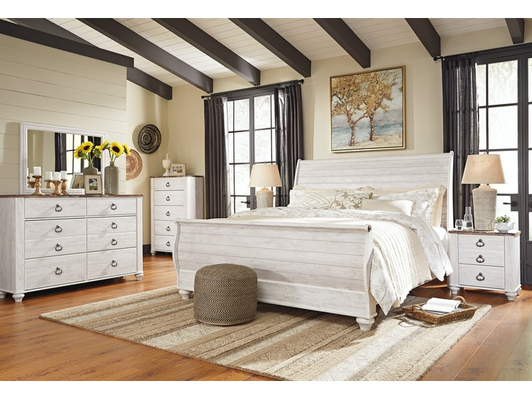Signature Design By Ashley Bedroom D M King Sleigh Bed C Ns B267 31 36 76 78 97 46 92 The