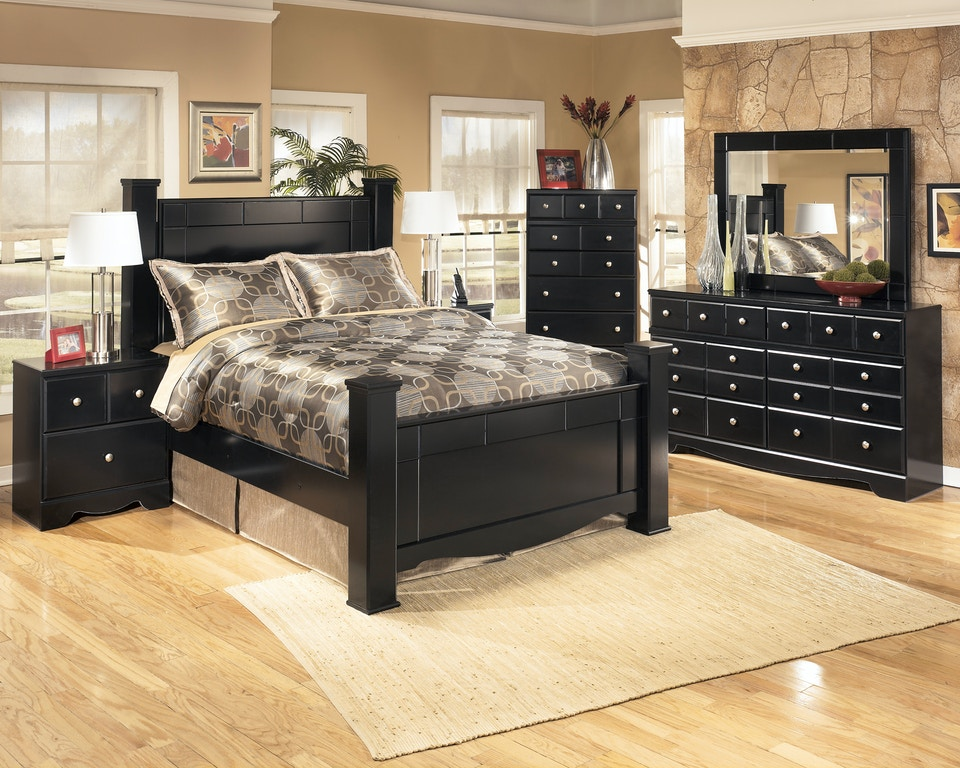 Signature Design by Ashley Shay 5pc queen bedroom set ...