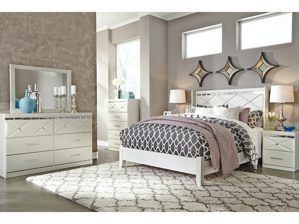 Signature Design By Ashley Dreamur 5pc Queen Bedroom Set B351qst The Furniture Mall Duluth