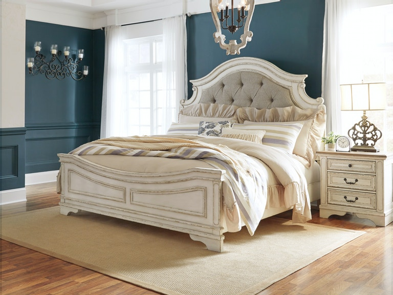 Signature Design By Ashley Realyn King Bed B743kb The Furniture Mall Duluth Doraville