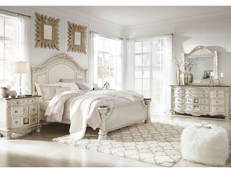 Signature Design By Ashley Cassimore 5pc King Panel Bedroom Set