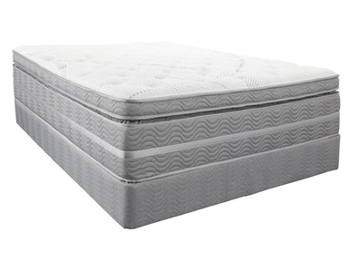 Southerland Mattress and Foundation Set Cappella Box Top Queen Set
