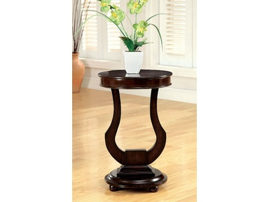 Furniture of America Side Table CM-AC106