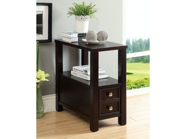 Furniture of America Side Table w/ Drawer CM-AC114