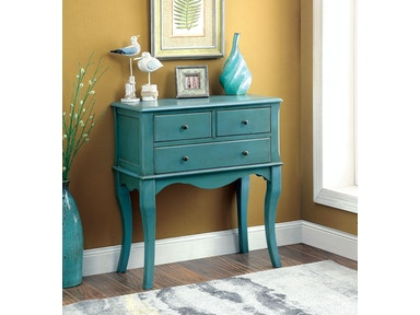 Furniture of America Hallway Cabinet, Antique Teal CM-AC137TL