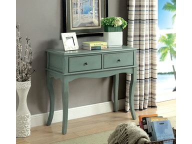 Furniture of America Hallway Cabinet, Antique Teal CM-AC160TL