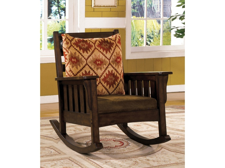 Furniture of America Living Room Rocking Chair CM-AC6401 - The ...