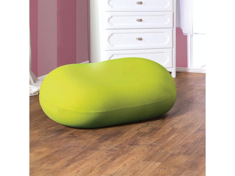 Furniture Of America Bean Bag Chair Green Cm Ac881gr