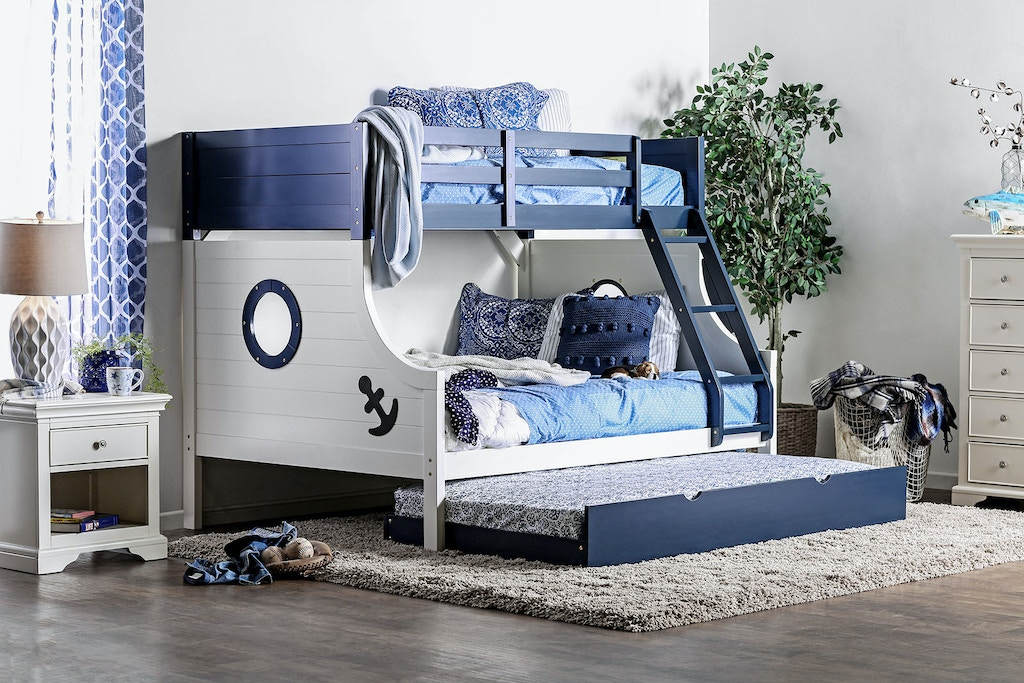 new product a2bed ed9fe Twin/Full Bunk Bed Of Full Bed Headboard, Footboard