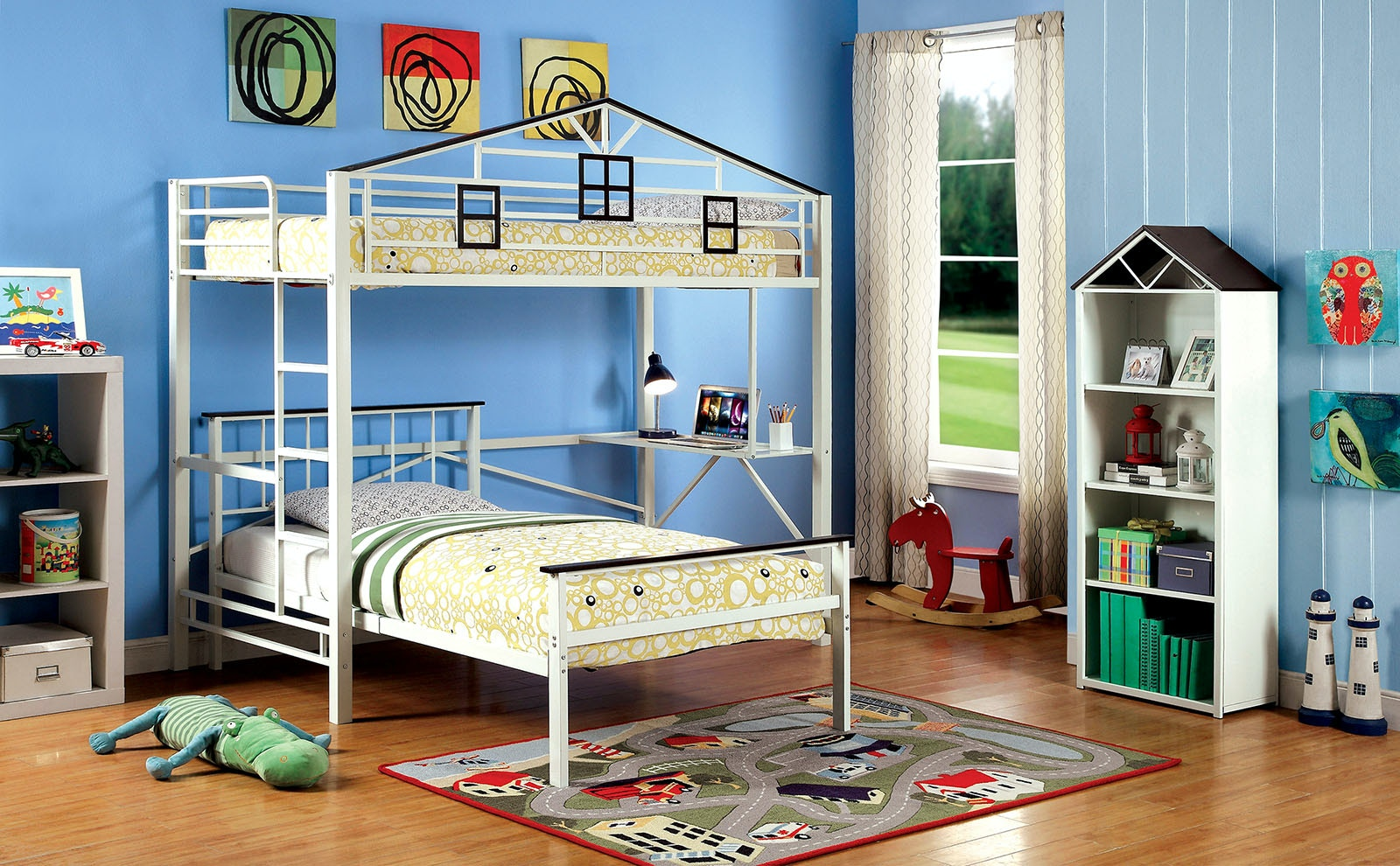 Furniture Of America Bedroom Loft Bed Cm Bk933l The Furniture Mall