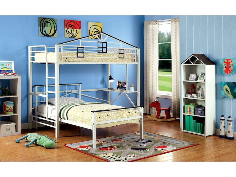 Furniture Of America Bedroom Loft Bed Cm Bk933l The Furniture Mall