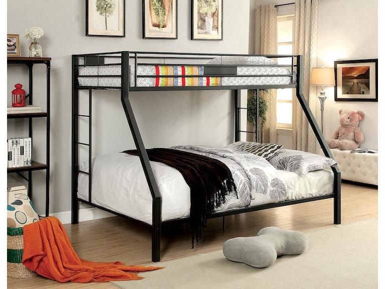 Twin Queen Bunk Bed