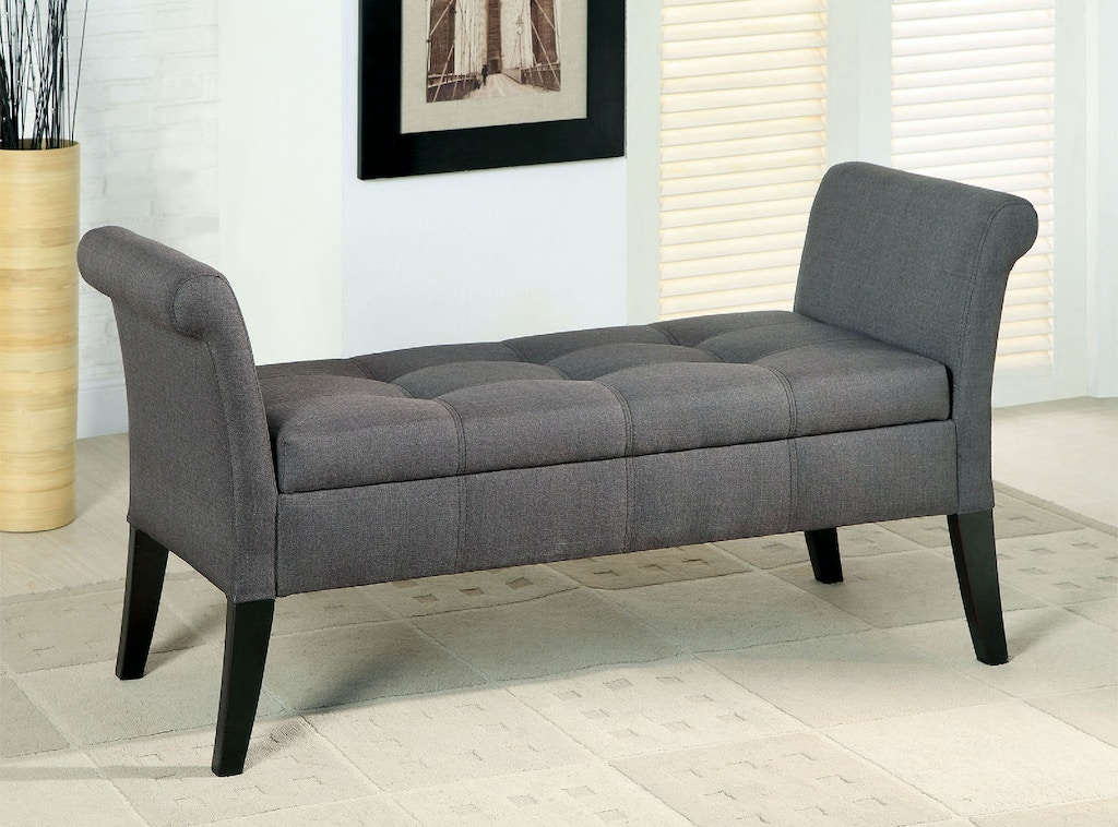 Stupendous Storage Bench Gray Ncnpc Chair Design For Home Ncnpcorg
