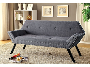 Furniture of America Bench, Gray CM-BN6195GY