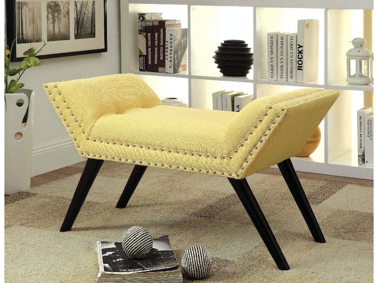 Sensational Bench Yellow Inzonedesignstudio Interior Chair Design Inzonedesignstudiocom