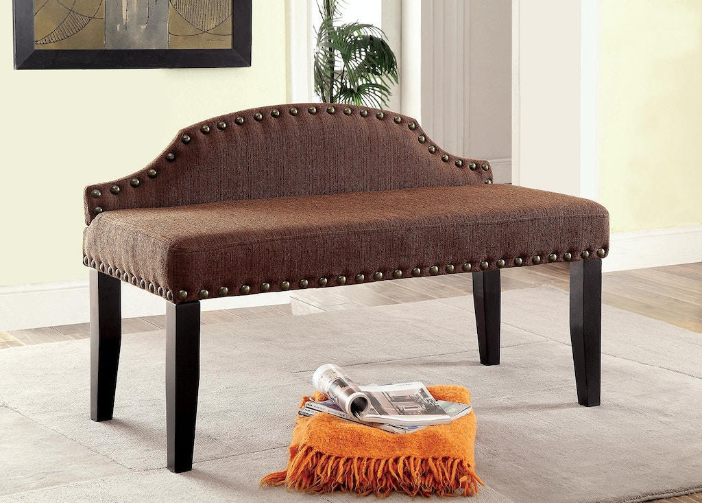 Furniture Of America Dining Room Small Bench Brown