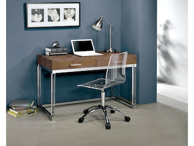 Furniture of America Desk, Brown CM-DK6090BR-3A
