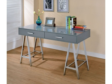 Furniture of America Computer Desk, Gray CM-DK6133GY